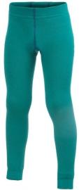 WOOLPOWER Kids Long John 200 - blauw - groen