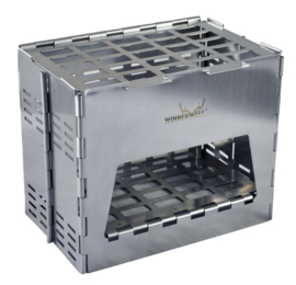 Backpack Stove RVS including Table Board+Bottom Tray
