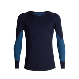 Icebreaker 	Mens 260 Zone LS Crewe Midnightnavy/Prussian Blue -M-L-XL