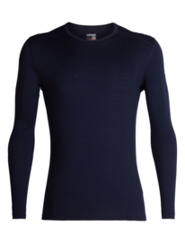 Icebreaker 	Mens 200 Oasis LS Crewe / Midnight Navy - M-XL