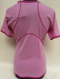 Icebreaker Wmns GT180 S/S Chase Crewe Rose/Cranberry -XSmall