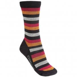 Icebreaker Socks Lite Crewe Cognac/Cherub (Damen) - S-M-L