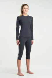 Icebreaker Wmns GT200 Pace Legless Panther -S-M