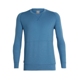 Icebreaker Mens Shifter LS Crewe Thunder -Medium