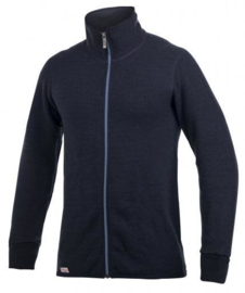 Woolpower Color Collection Full Zip Jacket 400 Dark Navy/Nordic - S-L-XL-XXL