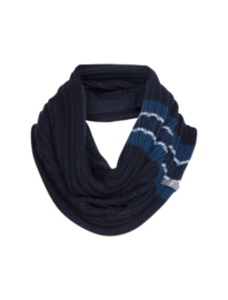 Icebreaker Altitude Circle Scarf Midnight Navy/Largo/Light Blue - One Size
