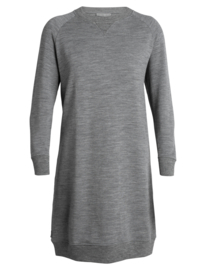 Icebreaker Womens Lydmar Dress / Gritstone Hthr - Small