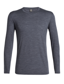 Icebreaker 	Mens Solace LS Crewe / Midnight Navy - S-XL