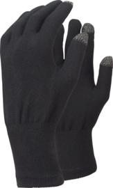 Trekmates Merino Touch Glove Liner Handschoen - Zwart - SM-LXL