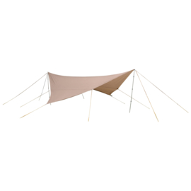 Nigor Parawing - Tarp - 350x350 cm - Ripstop Polyester - Zand
