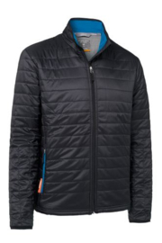 Icebreaker 	Mens Stratus LS Zip Carbon/Alpine/Alpine -Medium