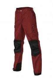 Pinewood Outdoor Pants Lappland Kids - rood