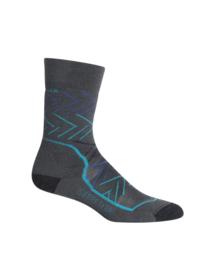 Icebreaker Socks Hike Mid Crew / Monsoon - 38-40