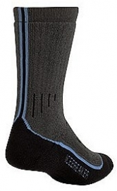 Icebreaker Socks Hike Heavy Crew Oil/Nordic/Black (D) - 41-43
