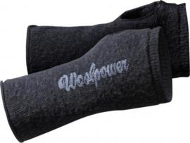 Woolpower Polswarmers - cerise - petrol - grijs- dark navy