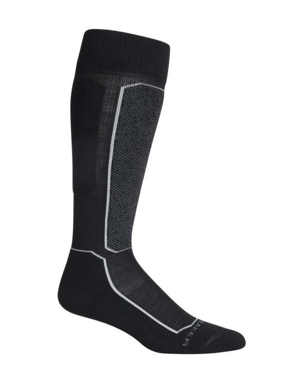 Icebreaker SKI+ LIGHT OVER THE CALF / Black - 38-40 / 41-43