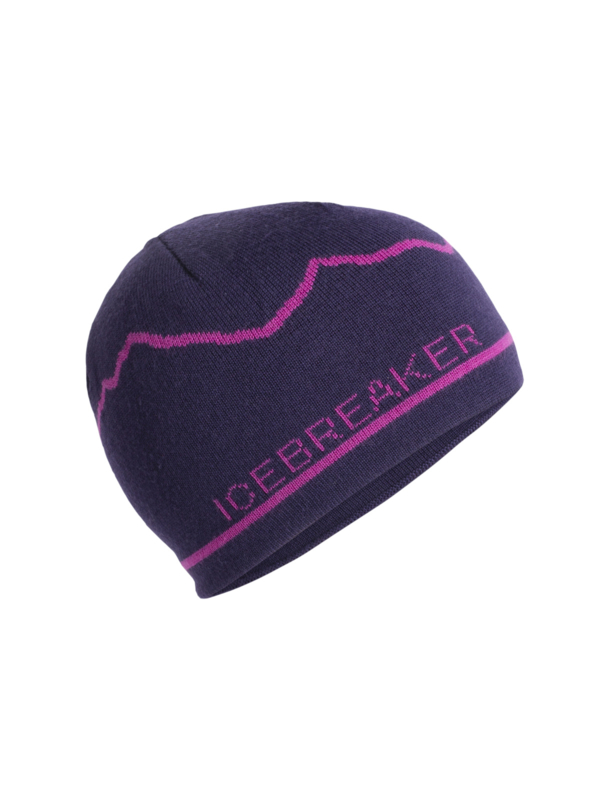 Icebreaker Unisex Beanie Mt. Cook / Lotus/Amore - One Size