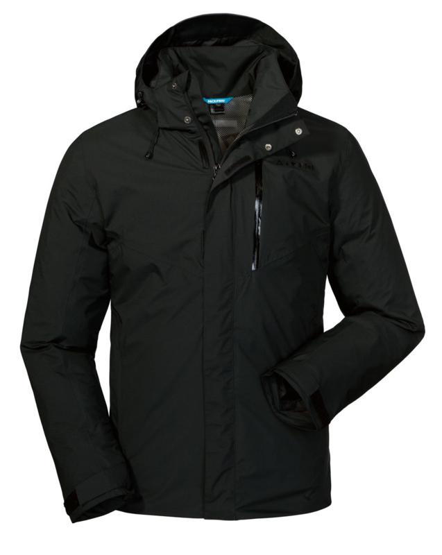 Schöffel - ZipIn! Jacket Adamont1 - black - heren - maat 50