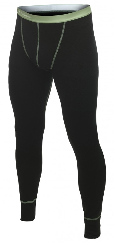 WOOLPOWER LITE Long Johns -  heren (Groene stiksels) -L-XL