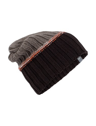 Icebreaker muts  Altitude Slouch Beanie  Ebony/Trail Heather - One Size