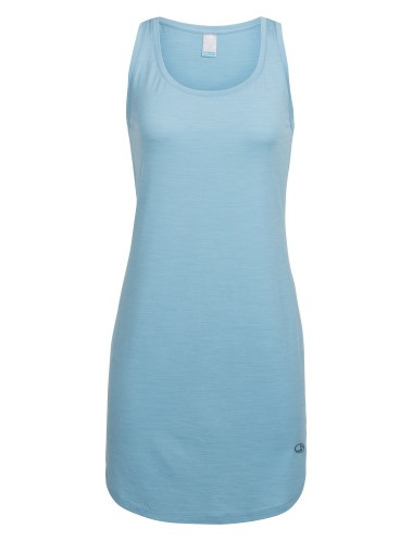 Icebreaker Wmns Yanni Tank Dress / Waterfall -Small