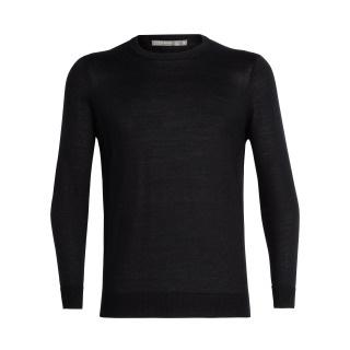 Icebreaker Quailburn Crewe Sweater Black -M-L