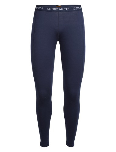 Icebreaker Wmns Zone Leggings 200 Midnight Navy/Largo -S-L