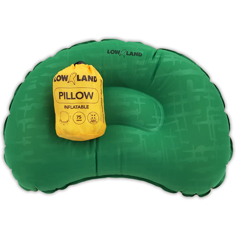 LOWLAND OUTDOOR® PILLOW INFLATABLE - 45 CM X 30 CM X 10 CM