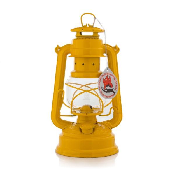 Feuerhand stormlantaarn 26 cm (olielamp) - GEEL