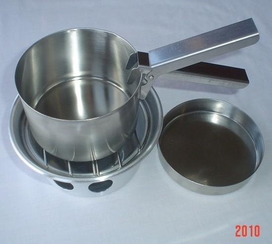 Kelly Kettle® Cook Set (Stainless Steel) voor Trekker