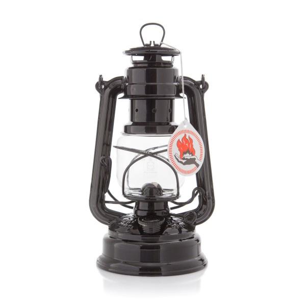 Feuerhand stormlantaarn 26 cm (olielamp) - ZWART