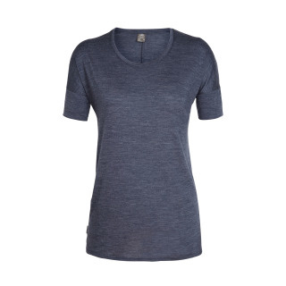 Icebreaker Wmns Elements (Solace) SS Low Crewe / Midnight Navy Hthr -S-M-L