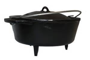 Bake Potjie # 12 with legs - de Zuidafrikaanse Dutch Oven - 5 liter