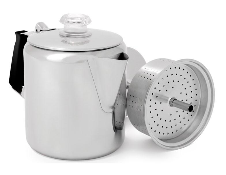 GSI Glacier RVS 9 cup koffiepercolator