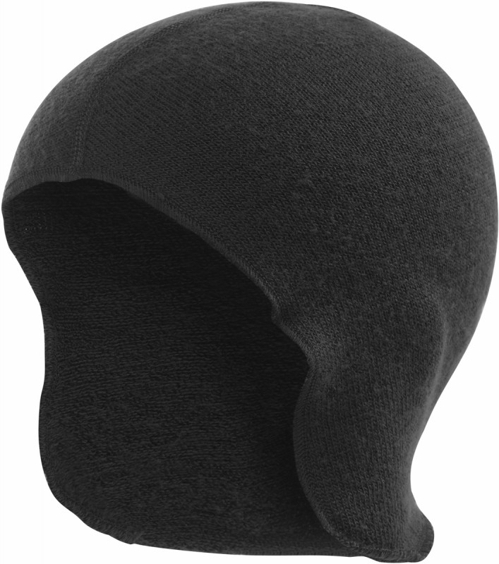 Woolpower - Helm ondermuts 400 - zwart - pine green