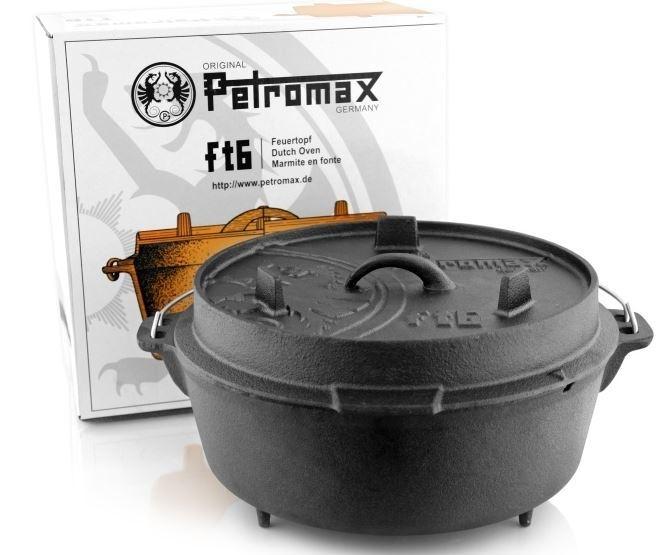 Petromax Dutch Oven ft6 - 7.6 liter (met pootjes)