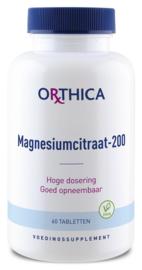 Magnesium citraat 200 - Orthica