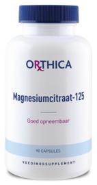 Magnesium citraat 125 - Orthica