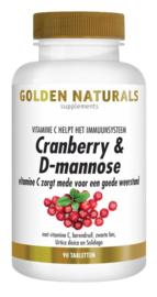 Cranberry & D mannose - Golden Naturals