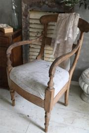 STOF NAPOLEON PRINT - gecoat linnen/rayon - Br. 140 cm -Jeanne d 'Arc Living -