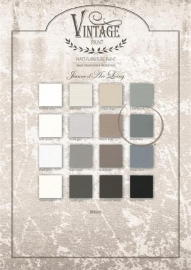 PETROL BLUE (100 ml) - VINTAGE PAINT - JEANNE D 'ARC LIVING -