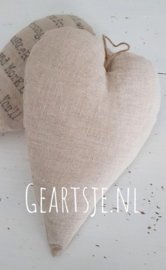 HART - LINNEN -20 cm- Jeanne d 'Arc Living