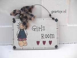 LABEL - GIRLS ROOM -