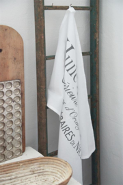 KITCHEN TOWEL / KEUKEN DOEK- HUILE d' OLIVE - 80x50 cm - Jeanne d 'Arc Living