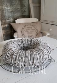 KRANS TWIJGJES - white wash - 30 cm -