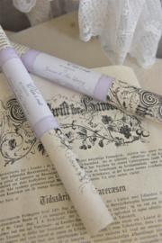 SHEET -  met gothic tekst - (2x) - Jeanne d 'Arc Living