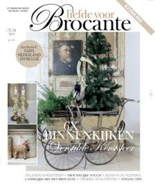 Magazine - LIEFDE VOOR BROCANTE - nr.4  - KERST - 2019