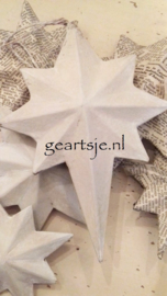 KERSTSTERREN (3 stuks) - Jeanne d 'Arc Living -