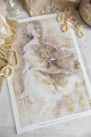 SHEET -  met illustratie - Jeanne d 'Arc Living