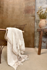 PLAID - creme/beige - 170x130 cm - Jeanne d 'Arc Living
